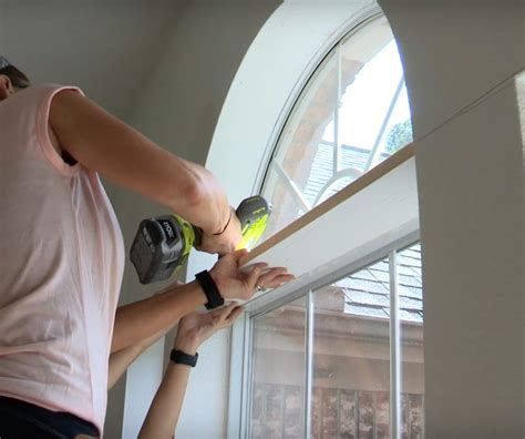 Diy Material Covered Door Trim